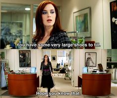 You have some very large shoes to fill ~ The Devil Wears Prada (2006) ~ Movie Quotes