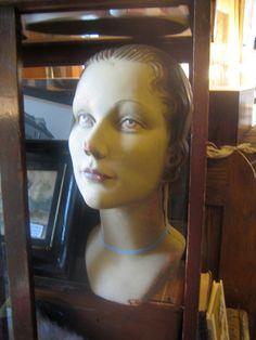 rubber mannequin head