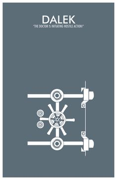 Doctor Who Poster Dalek by TheGeekerie.