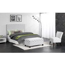 Walmart: Kinsley Chevron Bedroom Set, Gray