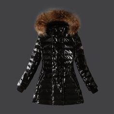 Buy Black Moncler Fashion Down Jacket for Women