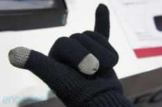 Hi-Fun's call-receiving Bluetooth gloves. I've got to get me a pair of these. Crazy!