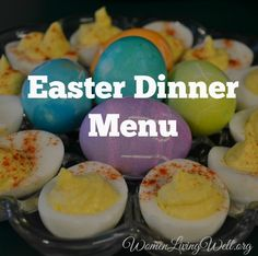 Easter Dinner Menu - Women Living Well