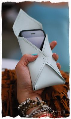 #DIY Envelope Cell Phone Case