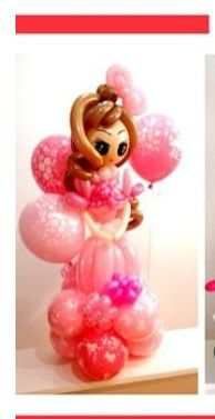 Doll balloon character #toy story #balloon #sculpture #twist #character #art #doll #princess