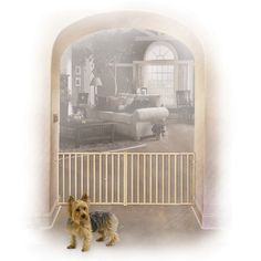 Midwest Homes For Pets Extra-Wide Rail and Baluster Pet Gate $42.99