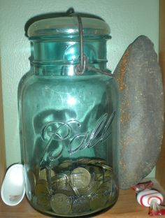 My ball jar @Karen Mazos