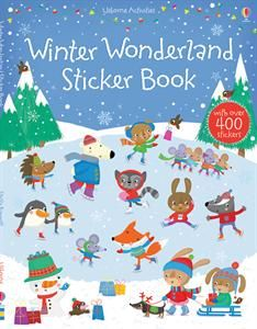 Winter Wonderland Sticker Book $8.99.  With over 300 seasonal stickers, children of all ages will be able to decorate a sleigh ride with polar bears, a frozen ice palace, Santa's house, and much, much more!
