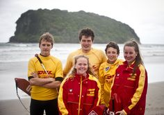 We always have terrific support at our triathlon events from Surf Lifesaving New Zealand