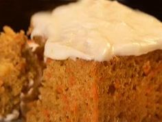 The Neelys' Light Carrot Cake with Cream Cheese Frosting #CarrotCake