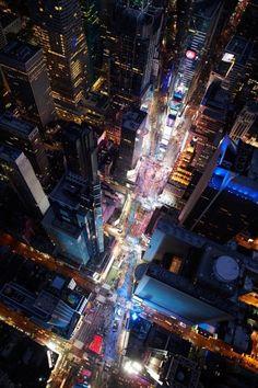 Times Square ~ Manhattan, New York.