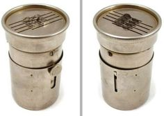 Scarificator (1910s-20s)  Scarificators were used in bloodletting. The spring-loaded blades in this device would cut into the skin, and a special rounded glass cup could be applied over the wound. When warmed, it would help draw the blood out at a faster rate.