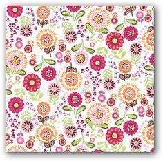 Papel Con Flores Para Imprimir De Scrapbook