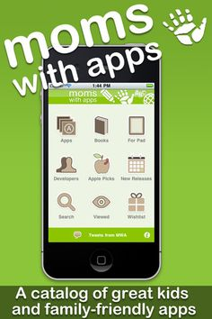 Moms with Apps is a catalog of children's and family-friendly apps.