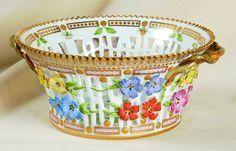 """Flora Danica"" fruit basket from Royal Copenhagen."