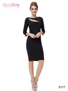 Sexy 3/4 Sleeve Short Wrap Party Dress For Women