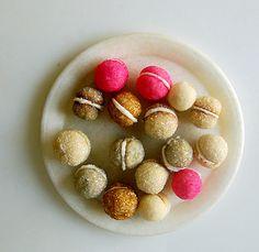 glittering sandwich cookies via @lisa Choe Simple