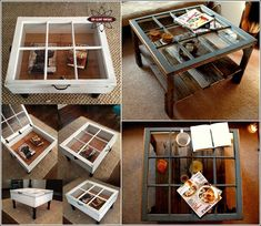 5 Ideas Salvaged Old Windows and Turned Them to a Wonderful Decor