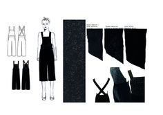 Fashion Design Portfolio - final design development, fashion illustrations & fabrics; fashion sketchbook // Lydia Hill