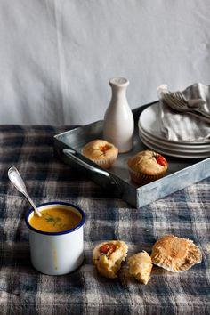 Tomato and Feta Muffins