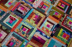 Bee Beautiful patchwork quilt