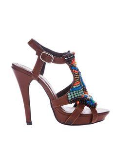Miso Tribal Platform Sandals