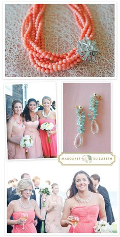 major statement necklaces and all around gorgeous baubles for your bridesmaids and you via http://www.margaretelizabeth.com/