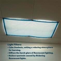 Classroom Lights Filters - Item No: 9058