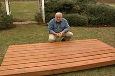 Watch this video on how to clean and brighten a deck and restore it to it's original glory.