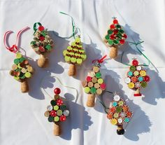 DIY: Cork tree ornament