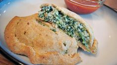 Spinach-Ricotta Calz