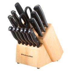 KitchenAid Stamped Set - Black (16 Pc)