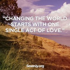 Let's change the world!! #Sevenly