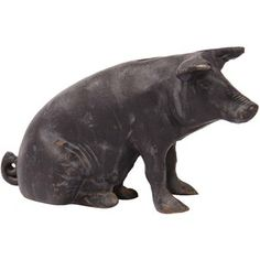 I have a piggy very similar to this one -- was my mother's