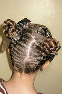 Meet in the Middle @ Princess Piggies.  There are french braids coming from the top and the bottom.