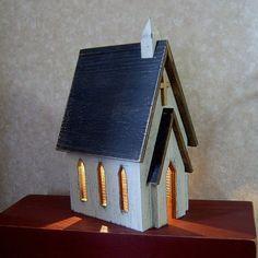 Primitive Lighted Church