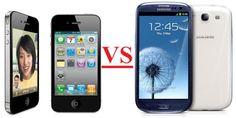 Galaxy S3 vs iPhone
