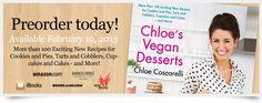 Chloe's Vegan Desserts-out February 19th!