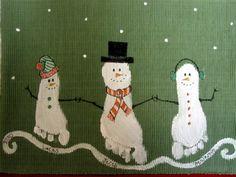 snowmen feet - Love It!