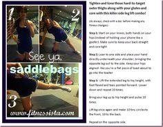 Fitnessista saddlebag