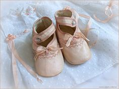 EDWARDIAN BABY SHOES ... ca. 1910