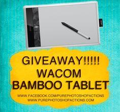 Win a Wacom Bamboo Pen Tablet!