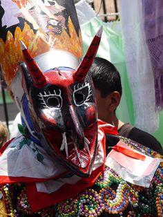 Máscaras de Michoacán, México.