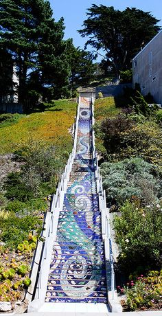San Francisco's 16th Avenue Tiled Steps