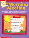 Tips for Morning Meetings and Class Meetings