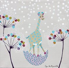 toiles et tableaux pour chambre d 39 enfant on pinterest mosaic mirrors collage and draw animals. Black Bedroom Furniture Sets. Home Design Ideas