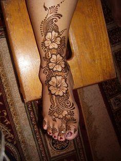 Henna Foot by Henna Trails