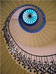 Tulip Staircase at the Queen's House (England)