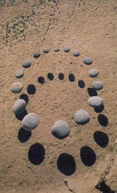 Floating Stone Circle by Tom Herzog