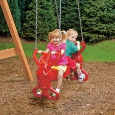 for the swingset - dual seat